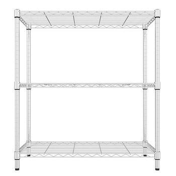 《舒適屋》日式鍍鉻萬用收納三層架-70x45x90