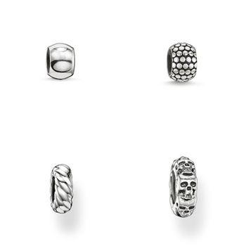 德國Thomas Sabo Karma Beads 925純銀擋珠(尺寸:0.6-0.9cm)