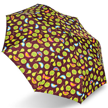 rainstory雨傘-小麻雀(咖啡)抗UV個人自動傘