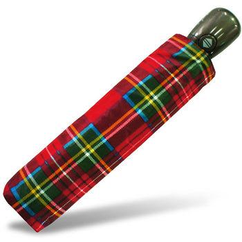 rainstory雨傘-蘇格蘭紋抗UV個人自動傘