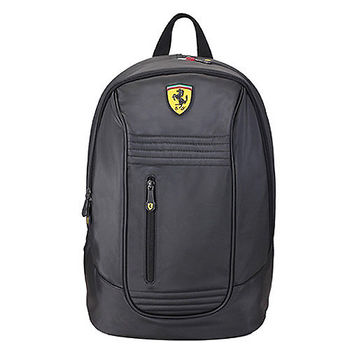 【Ferrari】法拉利 後背包TF013A(黑色)