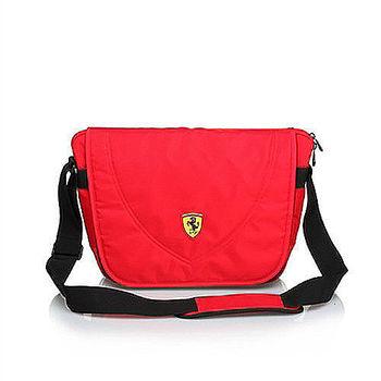 【Ferrari】法拉利 大側背包TF007B-R(紅色)