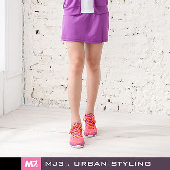 【MJ3】抗UV吸排一片式短褲裙-女(浪漫紫)S-L