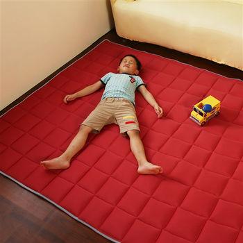 涼感防蚊3cm地墊(朱槿紅)150x180cm