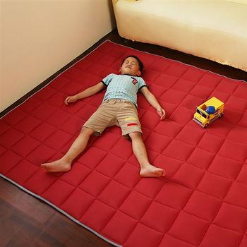 涼感防蚊3cm地墊(朱槿紅)75x120cm