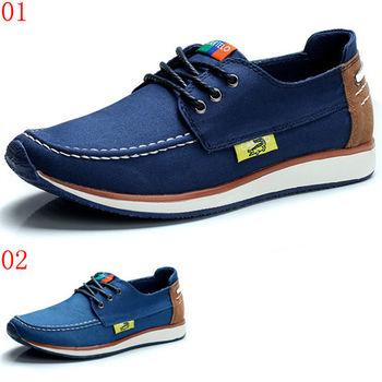 (預購)【CARTELO卡帝樂鱷魚】00350男鞋子英倫休閒時尚牛仔布鞋透氣單鞋低幫帆布鞋(JHS杰恆社)