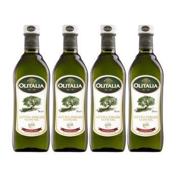 【Olitalia奧利塔】冷壓初榨橄欖油750mlx4瓶(雙入禮盒組)
