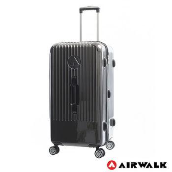 AIRWALK  LUGGAGE - 旗艦系列 方塊之舞28吋大行李箱 - 灰