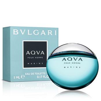 Bvlgari寶格麗 AQVA 海洋能量男性淡香水小香(5ml)