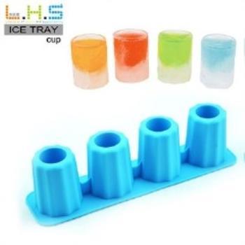 窩自在★杯子造型製冰格/長方形冰杯/製冰盒