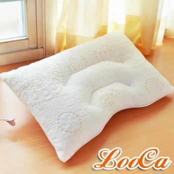 LooCa 好眠舒鼾透氣兩用乳膠枕(1入)