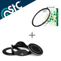 STC Hood~Adapter 轉接環 快拆 遮光罩組 UV 46mm保護鏡 For S