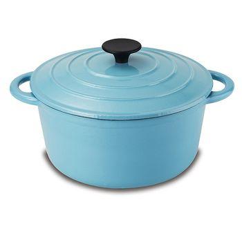 鍋寶歐風琺瑯鑄鐵鍋雅致品味組