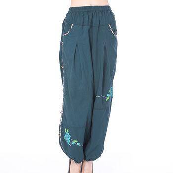 蘭陵純棉寬鬆輕鬆褲3入