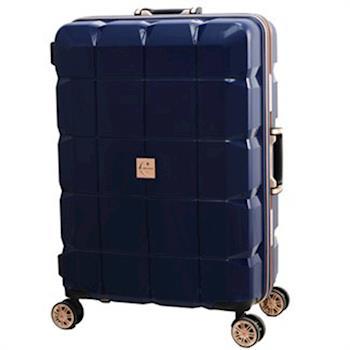 日本 LEGEND WALKER 6023-60-25吋 PP輕量行李箱 深河藍