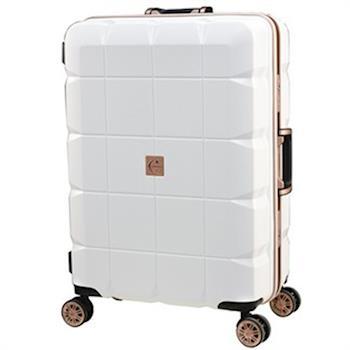 日本 LEGEND WALKER 6023-60-25吋 PP輕量行李箱 白色