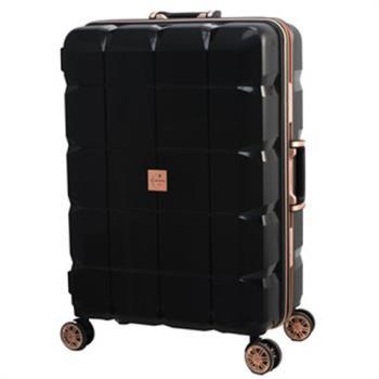 日本 LEGEND WALKER 6023-60-25吋 PP輕量行李箱 黑色