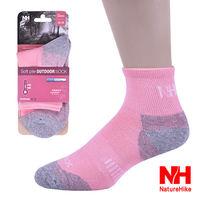 Naturehike 舒適型戶外機能襪 健行襪 登山襪女款 ^#40 粉紅 ^#41