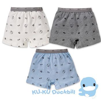 KU.KU酷咕鴨 嗶嗶猴男童四角內褲 (2763)