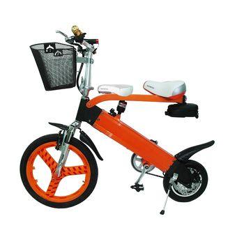 山久親子電動輔助摺疊自行車(K-1)