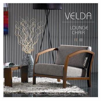 【H&D】Vader維德南洋風情波浪紋單人沙發椅