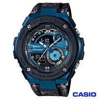 CASIO卡西歐 G ^#45 SHOCK強桿風格雙顯 腕錶 GST ^#45 200CP