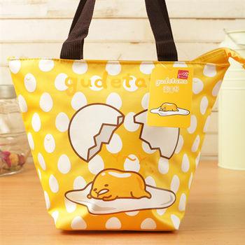 蛋黃哥 餃型便當袋/手提袋