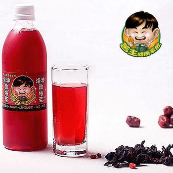《苦主健康茶飲》燕窩白木耳/靈芝茶/黑木耳/洛神酸梅茶/紅茶(各5瓶,共25瓶)