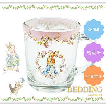 【BEDDING】彼得兔玫瑰馬克杯  350 ml