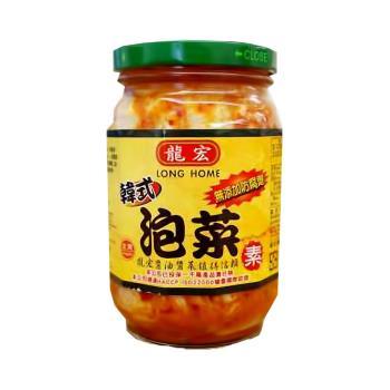 龍宏韓式泡菜 420gx12罐/箱