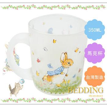 【BEDDING】彼得兔玻璃馬克杯-潔瑪鴨  350ml
