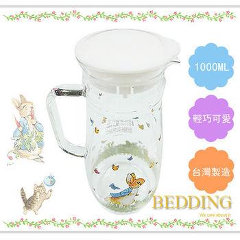 【BEDDINGl】彼得兔玻璃冷水壺-1000 ml
