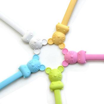 【Cornflower】快樂森林家族-聰明鼠湯匙叉子組-5色/組