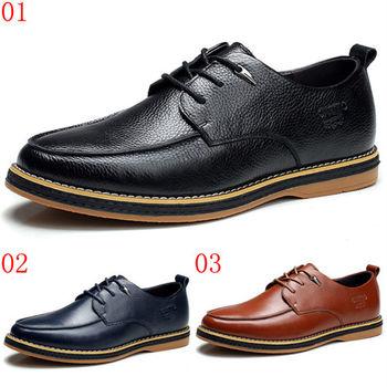 (預購)【CARTELO卡帝樂鱷魚】K70003男士休閒鞋子真皮鞋子英倫風潮鞋軟底耐磨男單鞋子(JHS杰恆社)