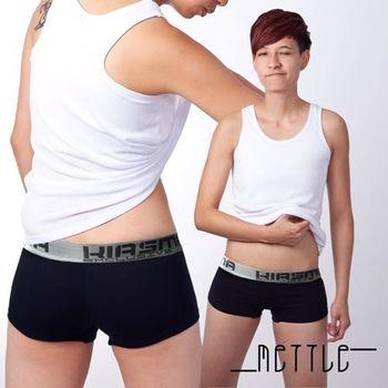 【METTLE】中性素面涼感平口內褲(深藍)