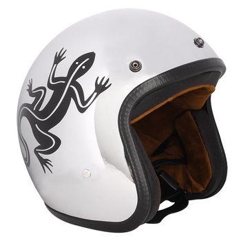 agnes b. agnes b. SPORT b.logo蜥蜴logo安全帽(鏡面銀)