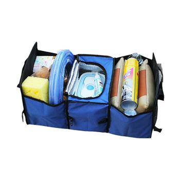 Sense神速 車用後車箱可摺疊收納置物袋 附保溫保冷袋