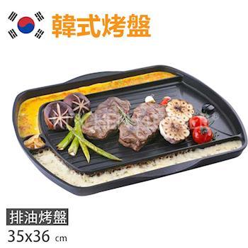 【韓國】韓國暢銷煎蛋不沾烤盤/滴油烘蛋烤盤 (長型 35 X 36cm)