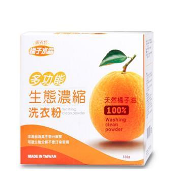 【御衣坊】多功能生態濃縮橘油洗衣粉 18件組(100%天然橘子油)