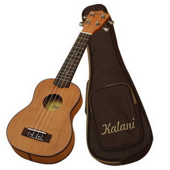 【Kalani 巴西品牌】21吋 單板紅松木烏克麗麗 Ukulele