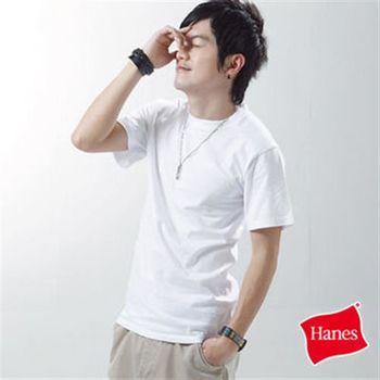 【美國原裝進口 Hanes 】型男S-XL經典圓領全棉短TEE-共三色
