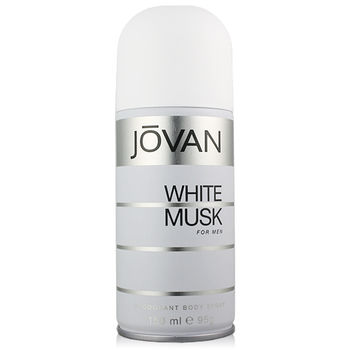 JOVAN White Musk  for Men白麝香男香體香噴霧(150ml)