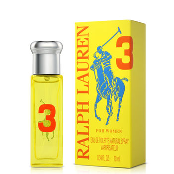 Ralph Lauren Polo Big Pony#3女性淡香水小香(10ml)