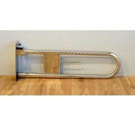 【通用無障礙】無障礙 安全扶手 不鏽鋼 活動扶手 (長70cm、高28cm、直徑11.5cm)