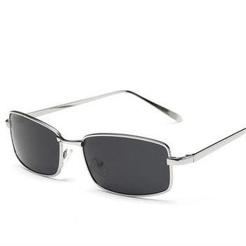 【米蘭精品】太陽眼鏡偏光墨鏡金屬框窄框百搭男款6色