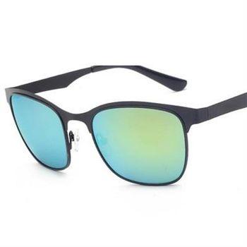 【米蘭精品】太陽眼鏡偏光墨鏡時尚金屬框設計男款5色