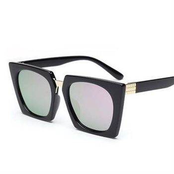【米蘭精品】太陽眼鏡偏光墨鏡韓版時尚金屬方框男女款5色