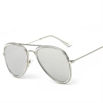 【米蘭精品】太陽眼鏡偏光墨鏡透明內圈炫彩設計男女款12色
