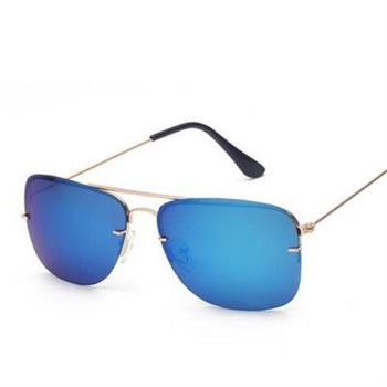 【米蘭精品】太陽眼鏡偏光墨鏡時尚百搭無框設計男款5色
