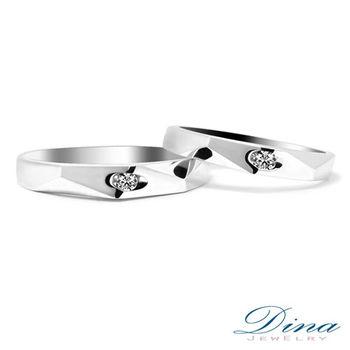 DINA JEWELRY 蒂娜珠寶 『堅定愛情』系列 結婚對戒_預購